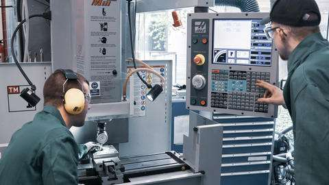Taking work offset on CNC milling machine